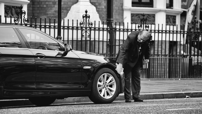 полирането на автомобил